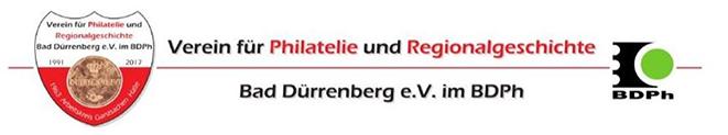 Verein für Philatelie und Regional-  geschicht Bad Dürrenberg e.V. im BDPh