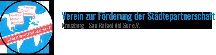Verein zur Förderung der Städtepartnerschaft Kreuzberg - San Rafael del Sur e.V.