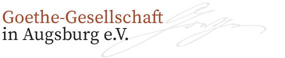 Goethe-Gesellschaft Augsburg