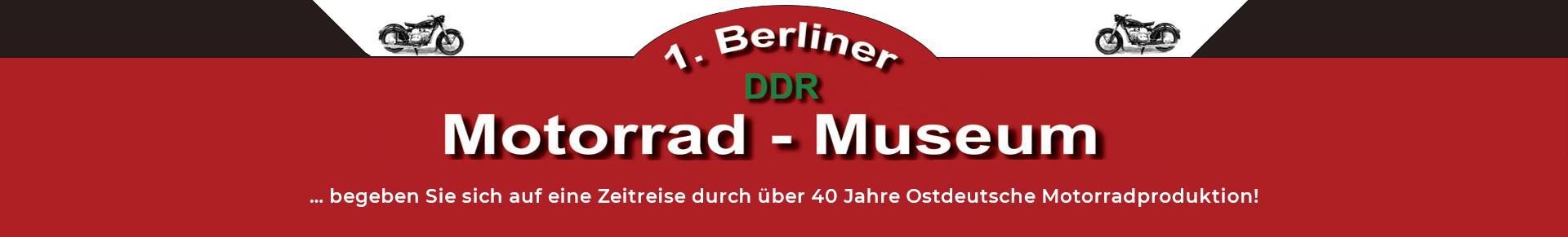 1.Berliner DDR Motorrad Museum
