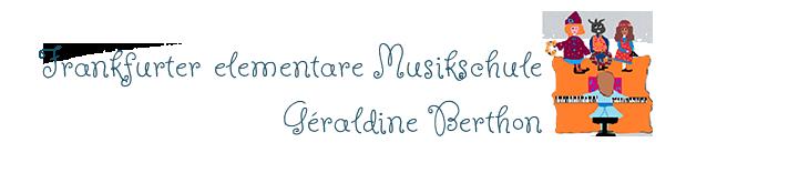 freiberufliche Musikpädagogin - Géraldine Berthon