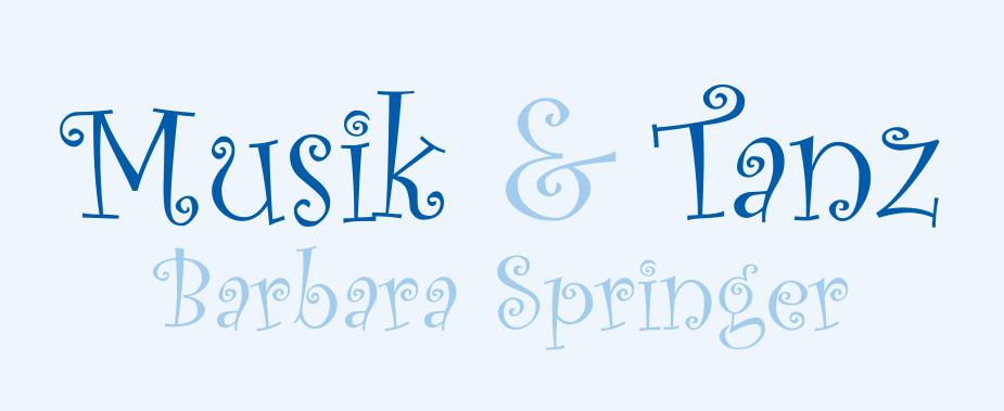 Tanztherapeutin, -pädagogin -Barbara Springer
