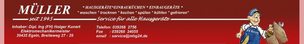 Müller-Haushaltsgeräte