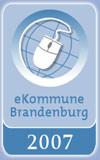 Auszeichnung zur eKommune 2007