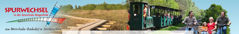 Touristenprojekt Spurwechsel Gemeinde Wagenfeld