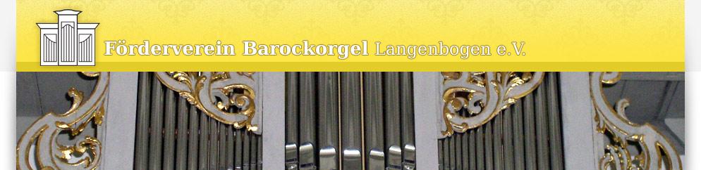 Förderverein Barockorgel Langenbogen e. V.