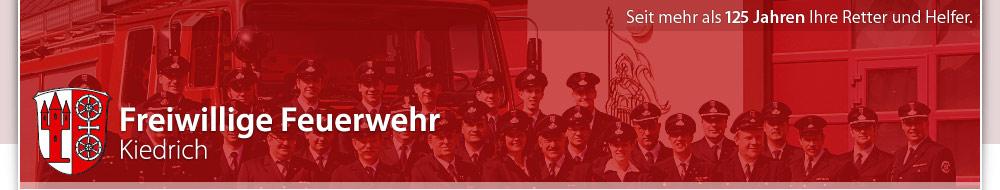 Freiwillige Feuerwehr Kiedrich