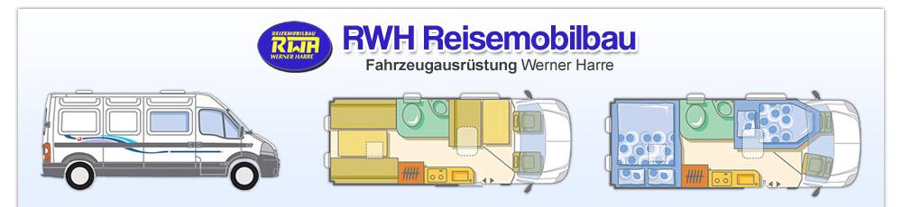RWH Reisemobilbau Fahrzeugausrüstung Werner Harre