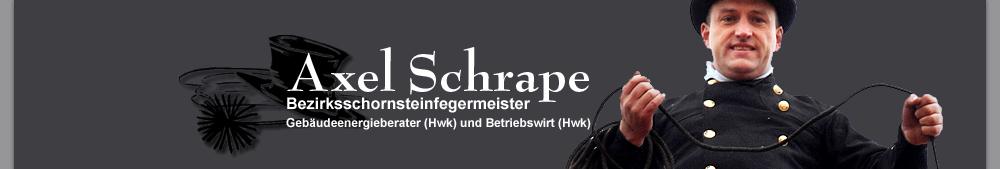 Bezirksschornsteinfegermeister Axel Schrape