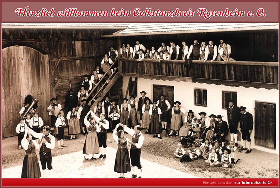 Volkstanzkreis Rosenheim e.V. - Herzlich willkommen