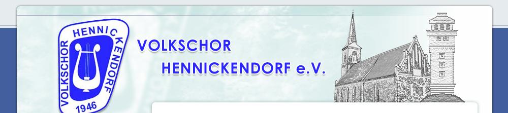 Volkschor Hennickendorf