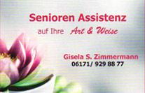 Senioren-Assistenz auf Ihre Art und Weis