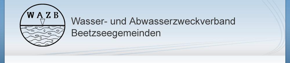"""Wasser- und Abwasserzweckverband """"Beetzseegemeinden"""""""