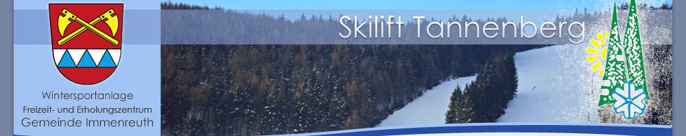 Skilift Tannenberg Gemeinde Immenreuth
