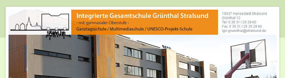 Integrierte Gesamtschule Grünthal Stralsund