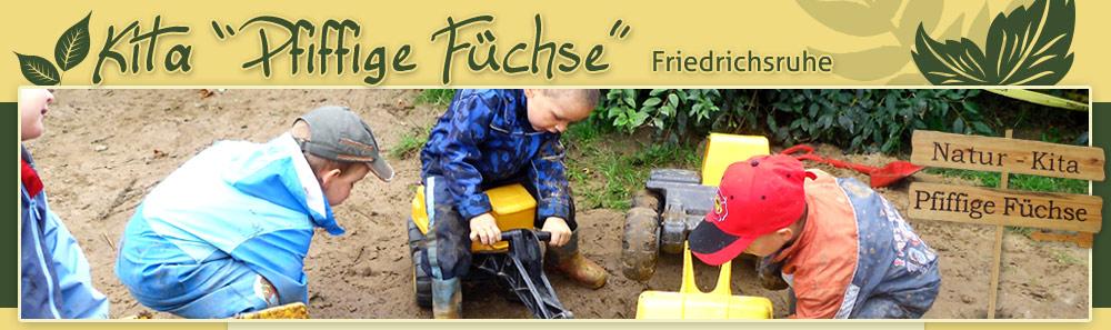 Kita Pfiffige Füchse Friedrichsruhe