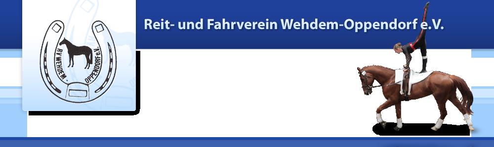 Reit- und Fahrverein Wehdem - Oppendorf e.V.