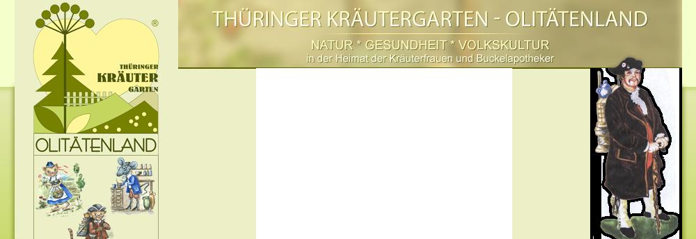 Regionaler Förderverein Olitätenwege im Thüringer Kräutergarten e.V.