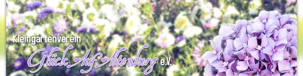 """Gartenverein """"Glück Auf Altenburg"""" e.V."""