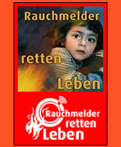 Rauchmelder retten Leben