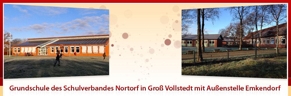 Grundschule des Schulverbandes Nortorf in Groß Vollstedt mit Außenstelle Emkendorf