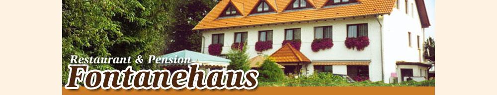 Restaurant und Pension Fontanehaus