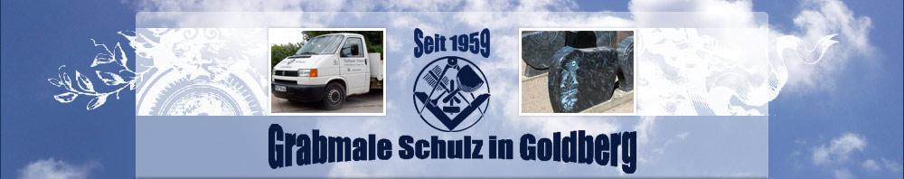 Goldberger Grabmale Schulz