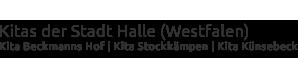 Kitas der Stadt Halle-Westphalen