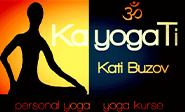 Yogalehrerin Kati Buzov