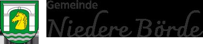 Gemeinde Niedere Börde