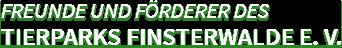 Freunde und Förderer des Tierparks Finsterwalde e. V.