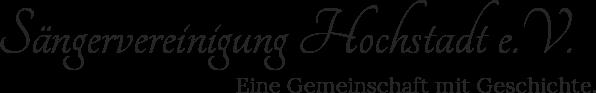 Sängervereinigung Hochstadt e.V.