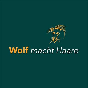 Wolf macht Haare Frieursalon