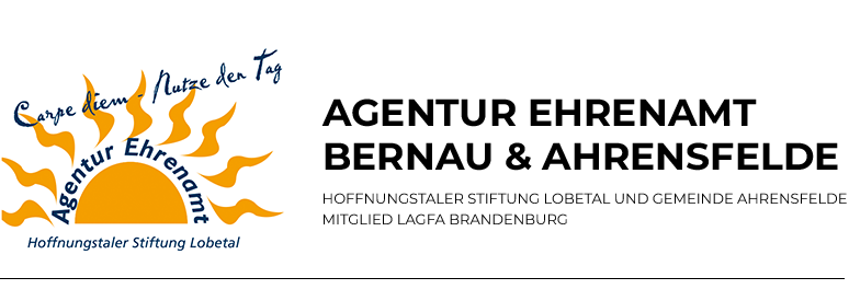 Agentur Ehrenamt der Hoffnungstaler Stiftung Lobetal