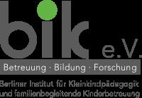 Berliner Institut für Kleinkindpädagogik und familienbegleitende Kinderbetreuung e.V.