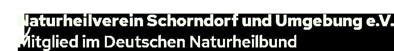 Naturheilverein Schorndorf und Umgebung e.V.