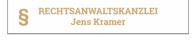 Rechtsanwaltskanzlei Jens Kramer