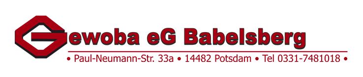 Gewoba eG Babelsberg